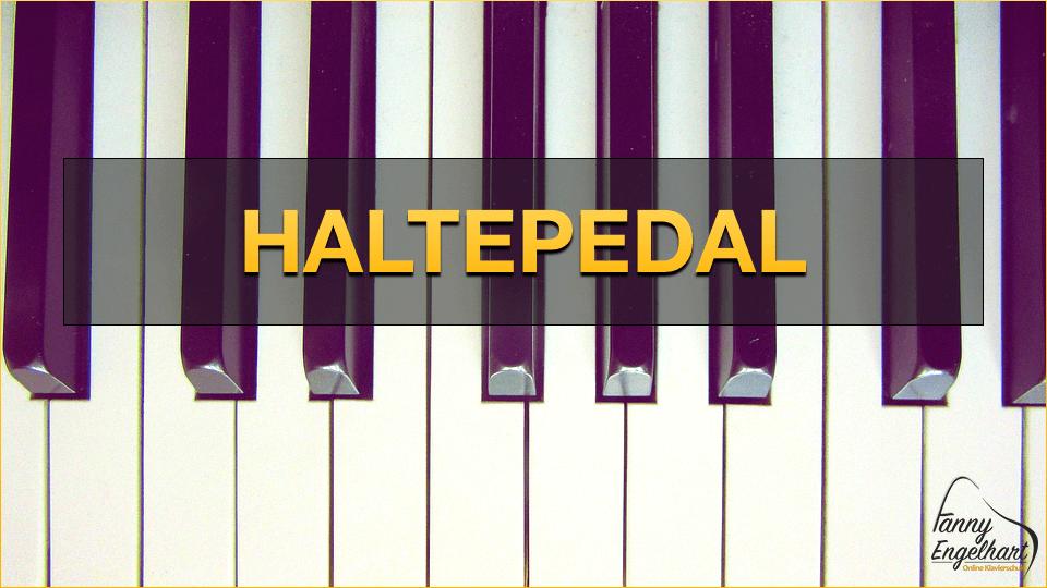 Haltepedal